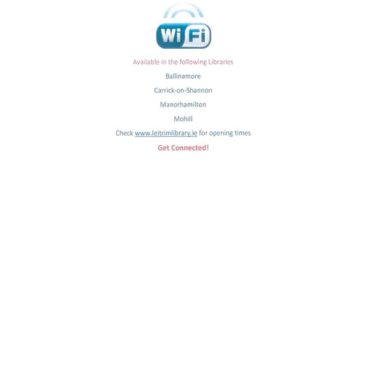 Free Wifi Access in Leitrim Libraries