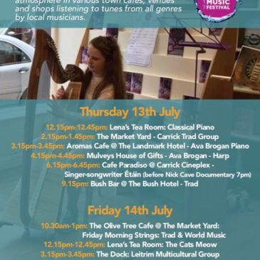 Free Music Trail around the town returns!