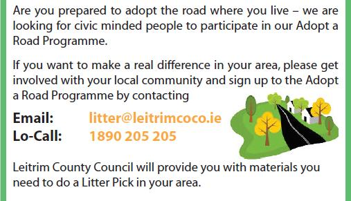 Leitrim County Council – Adopt a Road