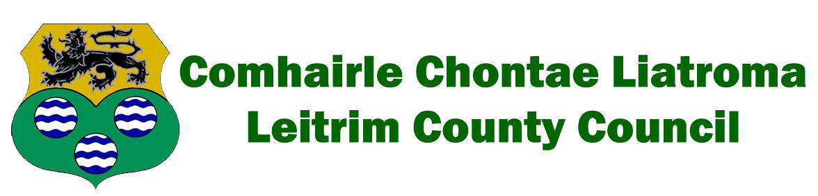 Leitrim County Council Logo with Irish
