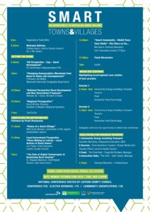 Smart Towns and Villages Conference Schedule