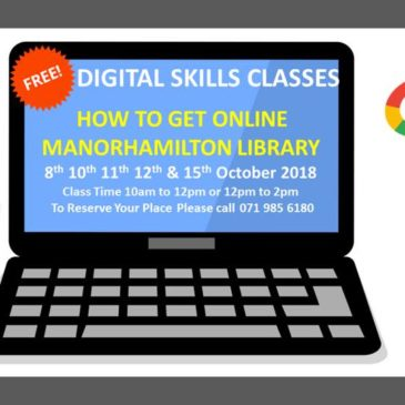 Digitise the Nation Training Courses – Manorhamilton & Mohill