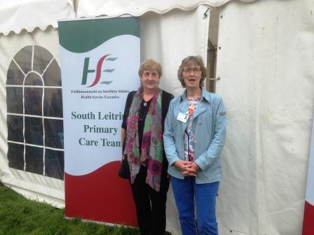 Health Screening at Ballinamore Show