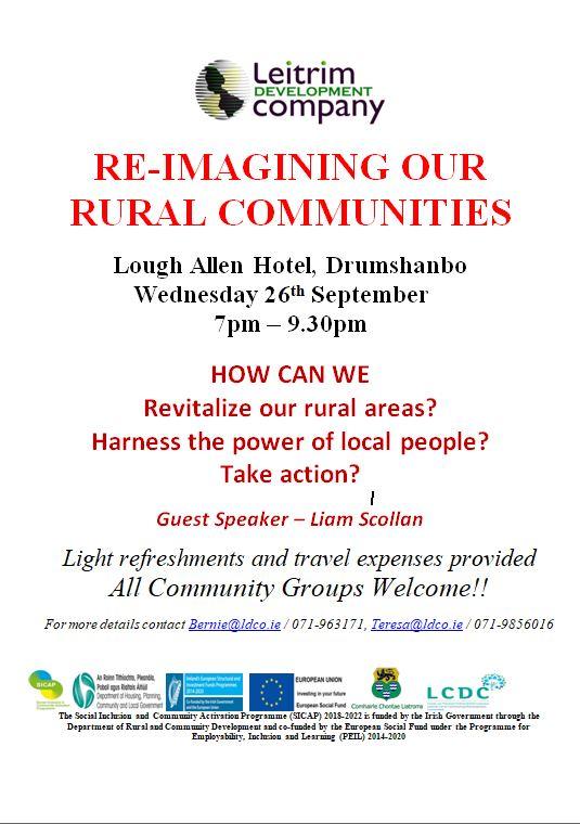 Poster - Re-imagining Rural Communities
