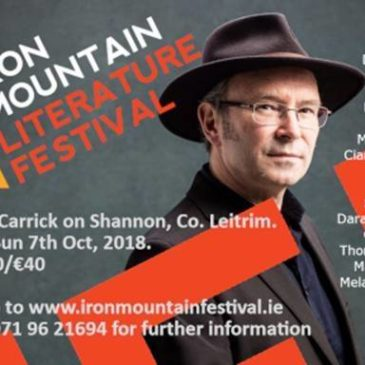Iron Mountain Literature Festival – Special Offer for Leitrim PPN Members