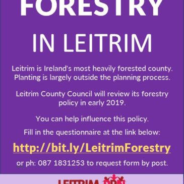 Forestry in Leitrim – Policy Input