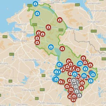 In an Emergency – Map of Leitrim Defibrillators