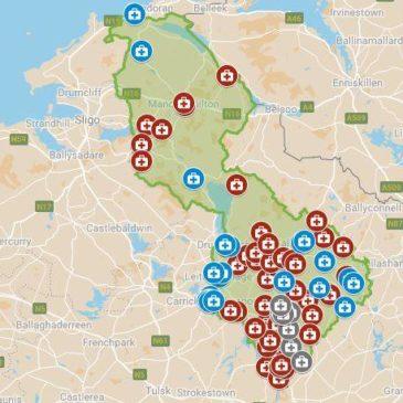 In an Emergency – Map of Leitrim Defibrillators
