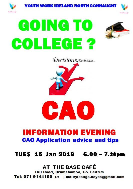 Leitrim CAO Information Evening