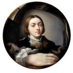 Self portrait by Parmigianino