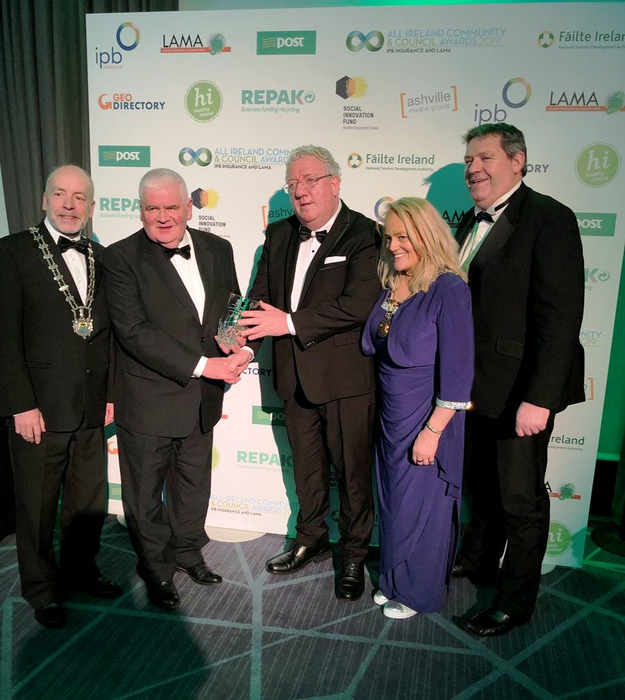 Leitrim Win National Impact Award, LAMA IPB