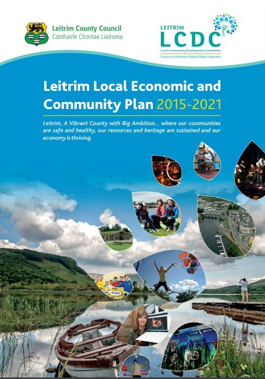 Cover of Leitrim Local Economic and Community Plan 2015-2021 ;inked to document