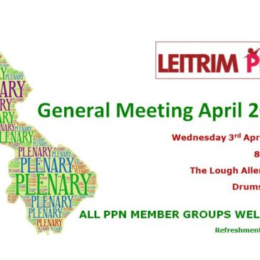 General Meeting of Leitrim PPN – April 3rd 2019