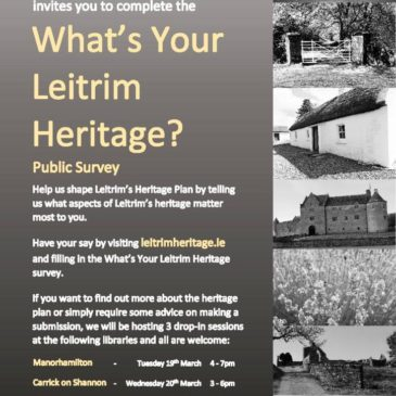 What's Your Leitrim Heritage? Consultation