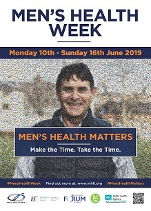 #menshealthmatters – INTERNATIONAL MEN'S HEALTH WEEK 2019