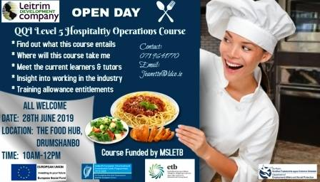 Hospitality Operations Course QQI Level 5
