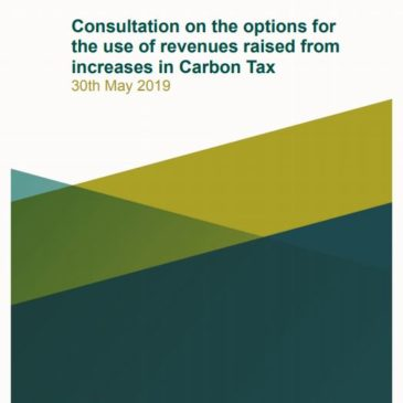Revenue from Increased Carbon Tax – Consultation