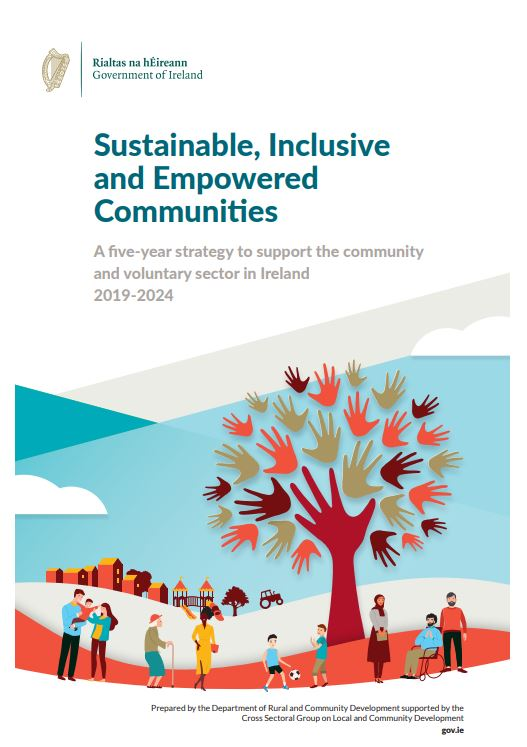 CoverSustainable, Inclusive and Empowered Communities_ A five-year strategy to support the community and voluntary sector in Ireland 2019-2024