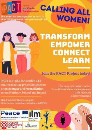 PACT – Peace and Conflict Transformation Training for Women