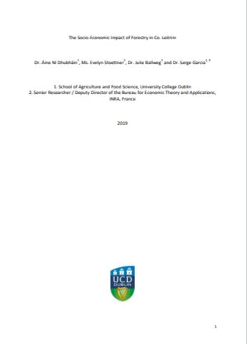 Cover of Forestry in Leitrim Report