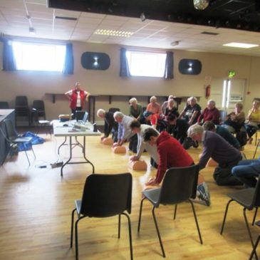 Life-saving CPR training in Leitrim