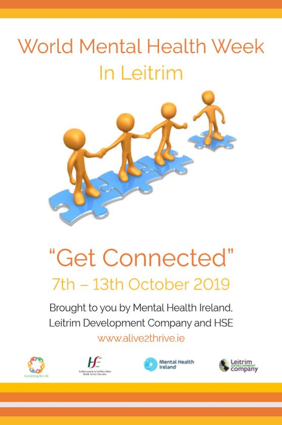 Cover of Leitrim World Mental Health Week Events 2019