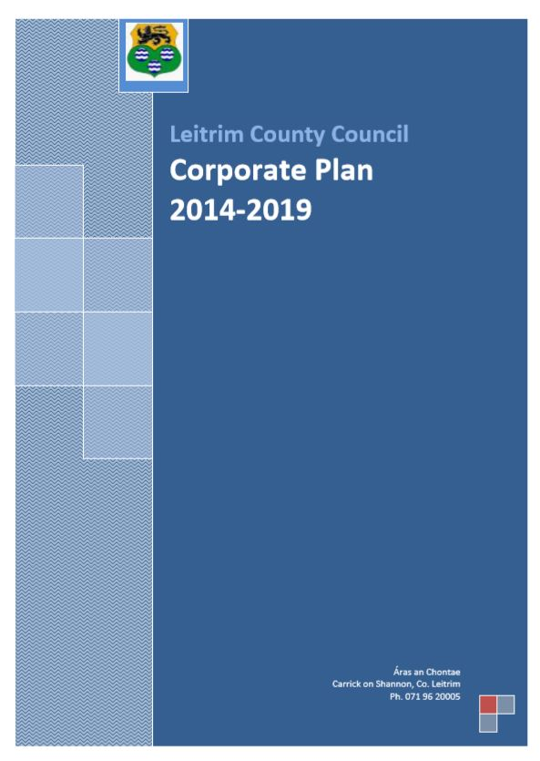 Cover of LCC Corporate Plan 2014_19