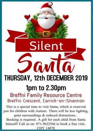Silent Santa Autism Friendly Christmas Event