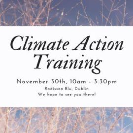 Climate Action Training For PPNs Notice