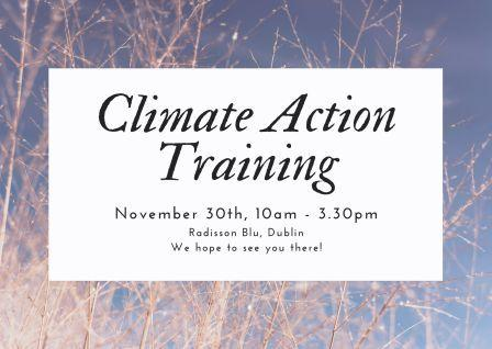 Climate Action Training for PPNs