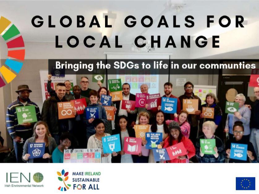 SDG cover of presentation to Nov 19 Meeting of Leitrim PPN