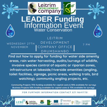 LEADER Funding-Water Conservation