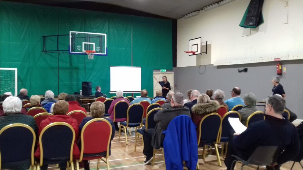 Presenting Sustainable Development Goals to Leitrim PPN General Meeting