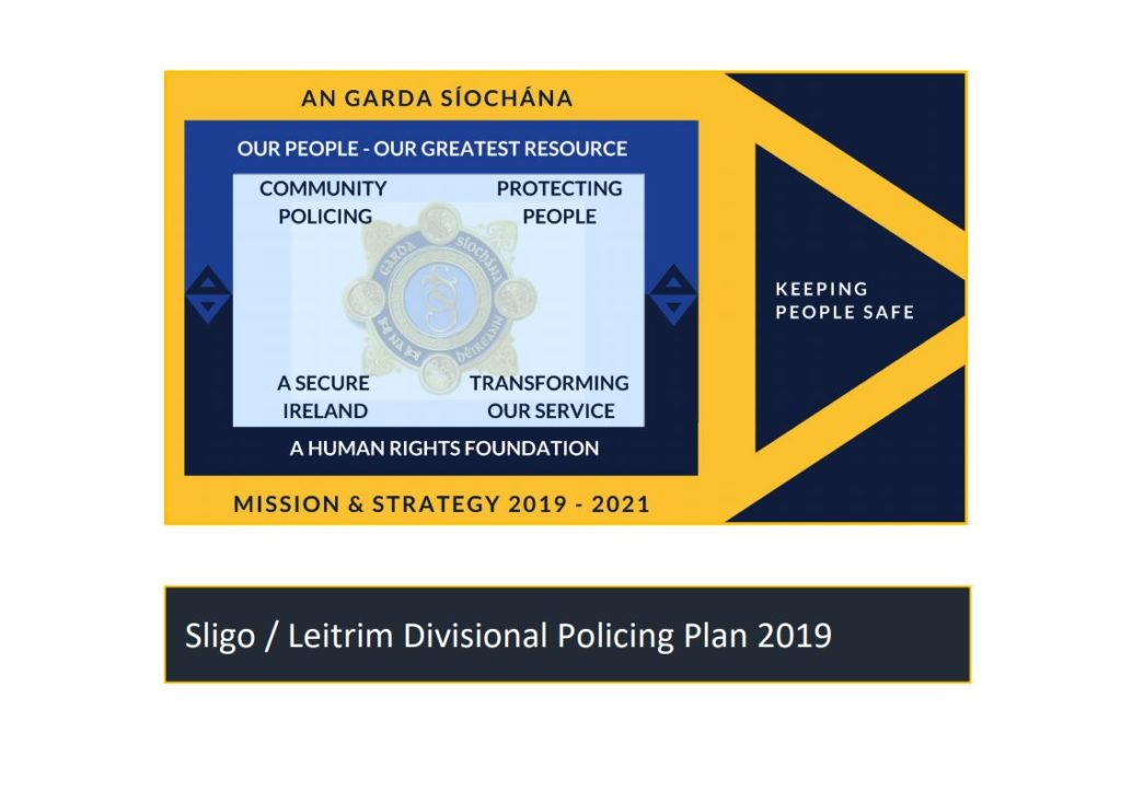 Policing PLan 2019 - Sligo Leitrim Divisional Plan Cover
