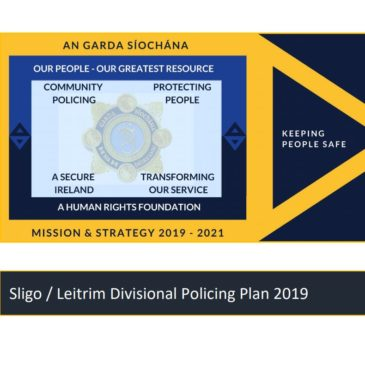 Sligo / Leitrim Divisional Policing Plan 2019