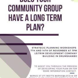 Strategic Planning for Community Groups Training