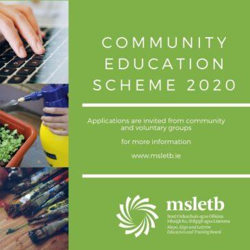 Community Education Scheme Grants