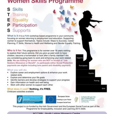 STEPS Programme For Women Returning To Education