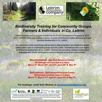 Biodiversity Training For Community Groups