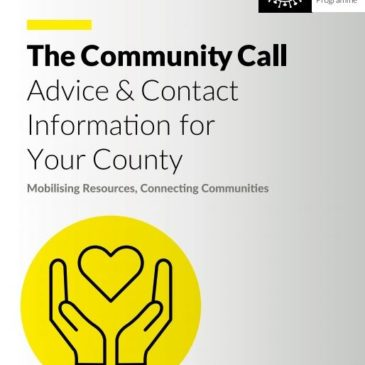 Community Call Booklet Being Distributed