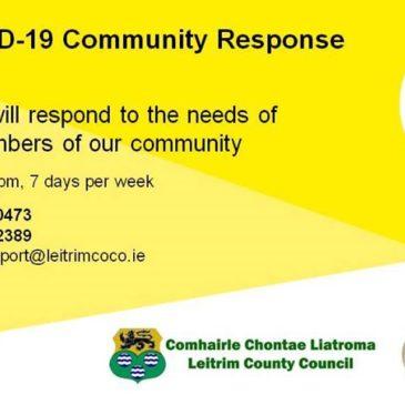 Leitrim COVID-19 Helpline Operates 24 Hours
