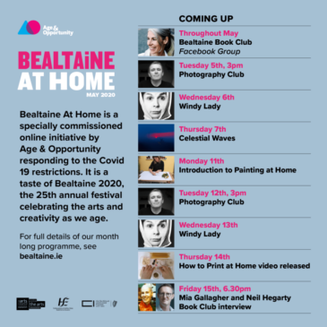Bealtaine At Home – celebrating creativity as we age