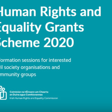 Human Rights and Equality Grants Scheme 2020 (Deadline Extended)