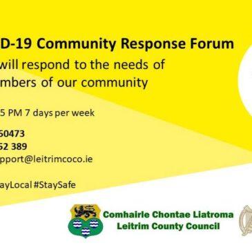 Leitrim Community Call Helpline Remains Open