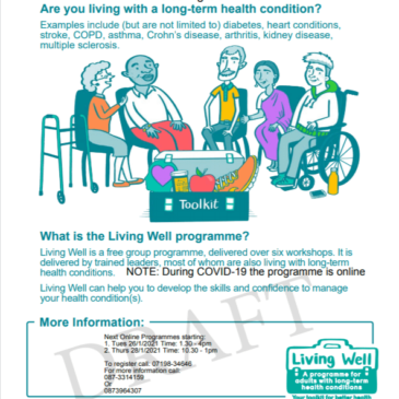 Living Well Programme For Adutls With Long-Term Health Conditions