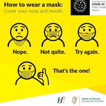 Mask Emoji Poster